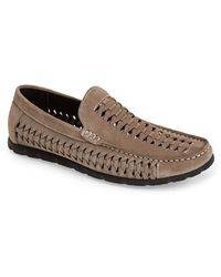 Kenneth Cole Reaction 'Tank A Stand' Woven Loafer beige - Lyst