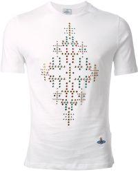 Vivienne Westwood Gemstone Embellished T-Shirt - Lyst