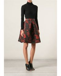 Kenzo 'Monster' Quilted Skirt - Lyst