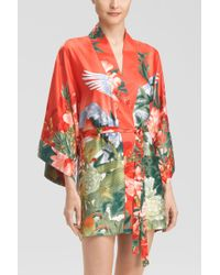 Natori Birds Of Paradise Wrap - Lyst