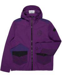 Paul Smith | Men's Purple Water-resistant Hooded Jacket | Lyst
