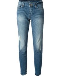 7 For All Mankind Josefina Slim Jeans - Lyst