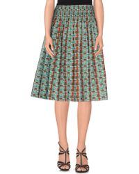 Laurence Doligé - Knee Length Skirt - Lyst