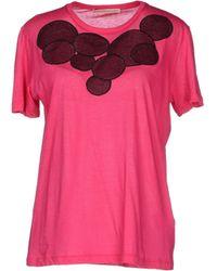 Christopher Kane T-Shirt pink - Lyst