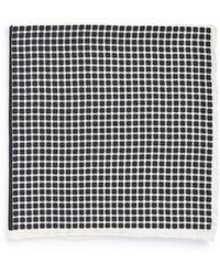 John W. Nordstrom® Silk Pocket Square - Lyst