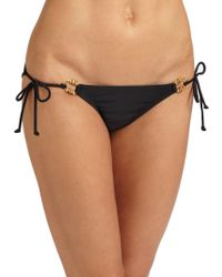 Shoshanna String Ring Bikini Bottom - Lyst