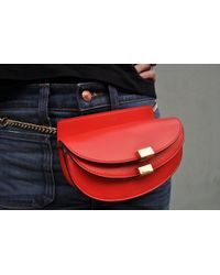 Chloé   Georgia Bum Bag, Poppy Red   Lyst