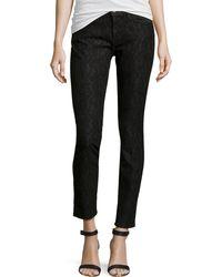 Current/Elliott Slim-Fit Lace Stretch Jeans - Lyst