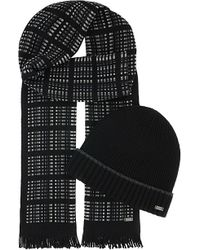BOSS | Fario Hat & Scarf Gift Set | Lyst