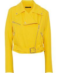 Christopher Kane Wool Biker Jacket - Lyst