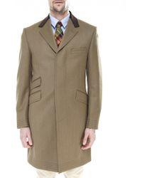 Jules B - Covert Overcoat - Lyst