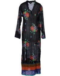 Lisa Corti - Three Quarter Sleeve Dress - Lyst