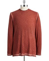Tommy Bahama Modern Fit Long Sleeved Tshirt - Lyst