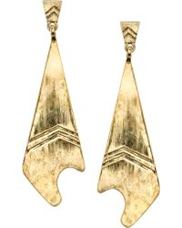 Low Luv by Erin Wasson Feather Earrings - Lyst
