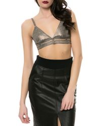 RVCA The Babe Parade Bralette - Lyst
