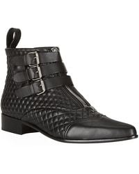 Tabitha Simmons Early Quilted Ankle Boot - Lyst