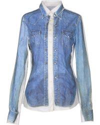 D&G Shirt blue - Lyst