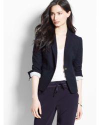 Ann Taylor Petite Textured Club Jacket - Lyst