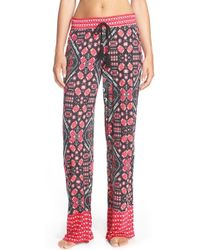 Bollydoll - Jaipur Jersey Palazzo Pants - Lyst