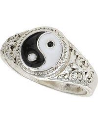 Topshop Yin Yang Ring - Lyst