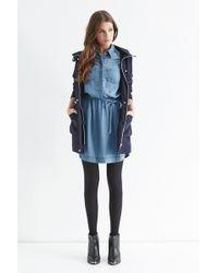 Oasis Eleni Elasticated Dress - Lyst