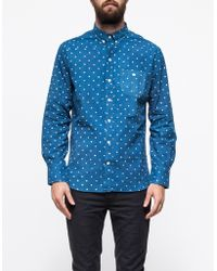 Industry of All Nations - Batik Dots Madras Shirt - Lyst