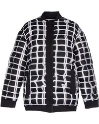 Kenzo Neon Plaid Padded Jacket - Lyst