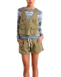 Charlotte Ronson Army Vest - Lyst