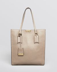 Burberry Tote Heritage Grain Medium Woodbury - Lyst