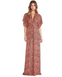 Issa Pollyanna Wrap Maxi Dress - Lyst