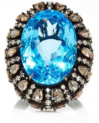 Sutra - Blue Topaz Oval Ring - Lyst