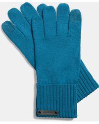 COACH Knit Tech Glove