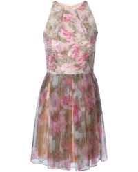 Matthew Williamson Floral-Print Silk Dress - Lyst