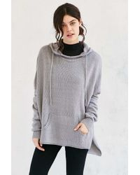 Ecote - Boyfriend Hooded Sweater - Lyst