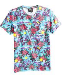 Wesc Sarek Hawaiian Pocket T-Shirt - Lyst