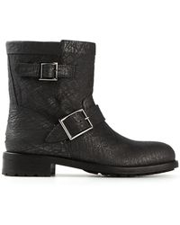 Jimmy Choo Gray Youth Boots - Lyst
