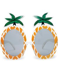 Asos O Pineapple Sunglasses - Lyst
