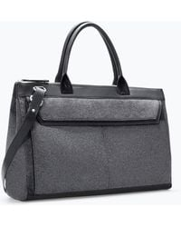 Zara Combined Bowling Bag - Lyst
