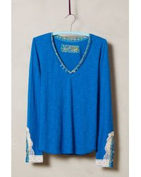 Anthropologie Blue Lata Tee - Lyst