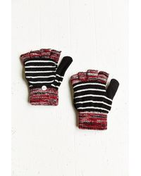 Urban Outfitters Striped Spacedye Convertible Gloves - Lyst