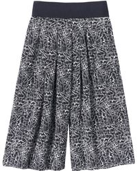 Rebecca Taylor Etched Print Culotte - Lyst