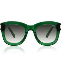 Bally Green Acetate Sunglasses - Lyst