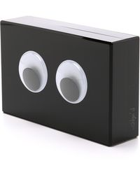 One By - Peek A Boo Clutch - Black - Lyst