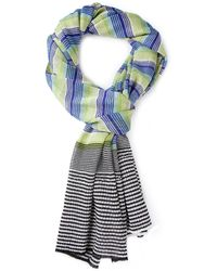 Missoni Striped Crochet Scarf - Lyst