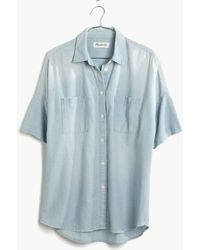 Madewell Chambray Courier Shirt - Lyst