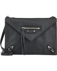 Balenciaga Papier Mini Triple Aj Crossbody - Lyst