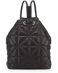 Milly Avery Quilted Lambskin Backpack - Lyst