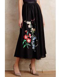 Sachin & Babi Floristic Tulle Skirt - Lyst