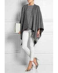 Burberry Merino Wool Cape - Lyst