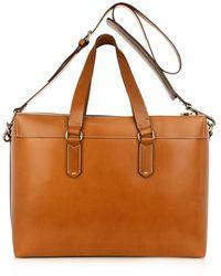 Ferragamo Leather Overnight Bag - Lyst